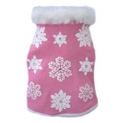 Fancy Snowflake Sweater - Pink