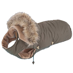 DOG COAT - KAKI ()