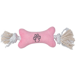 Allround Toy - Rope Bone - Pink