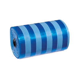 Stripes Poop Bags - Blue