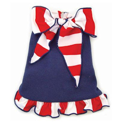 Sailor Dress - Striped