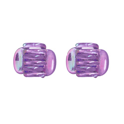 Claw Clips - Purple - 2-pack