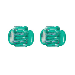 Claw Clips - Green - 2-pack