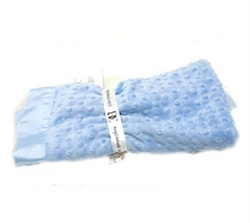 Dottie Blanket - Blue