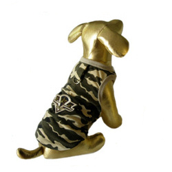 CAMO TANK - ARMY BADGE XXS-4XL (Le Chien)