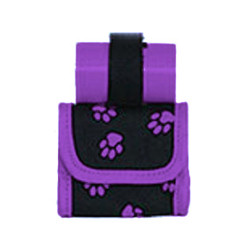 Mini Bag/Poop Bags Holder - Purple