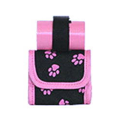 Mini Bag/Poop Bags Holder - Pink
