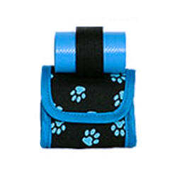 Mini Bag/Poop Bags Holder - Blue