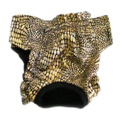 Panties - Black & Gold