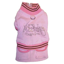 Sweatshirt / Dress - Pink with Monkey logo