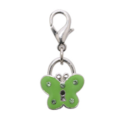 Lucky Butterfly Charm - Green