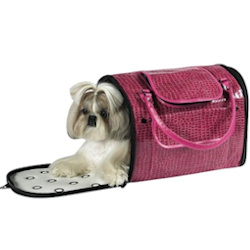 CROCO CARRIER FANCY - HOT PINK (Z&Z)