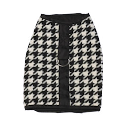 Houndstooth Harness - Black