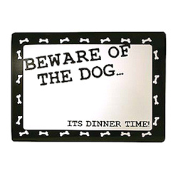 Place Mat - Beware of the Dog