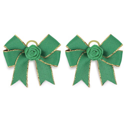 Christmas Bows - Green