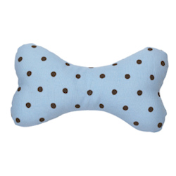 Polka Dot Bone - Blue