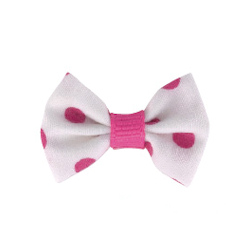 Pretty in Pink Bows - Dots