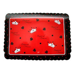 Pampered Princess Place Mat - Red