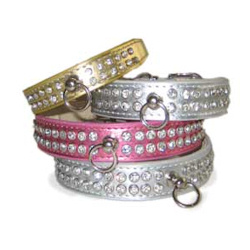 Celebrity Style Collar- Pink