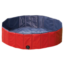 Dog Pool with cover - Large