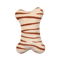 Plush Mini Bone - Tiger