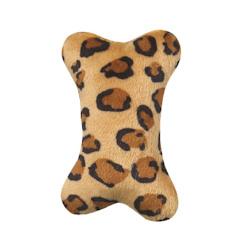 Plush Mini Bone - Leopard