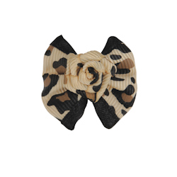 Leopard Rose Bow
