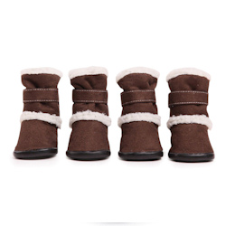 Sherpa boots - Chocolate Brown