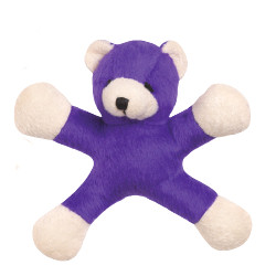 Jumping Jack Bear - Purple