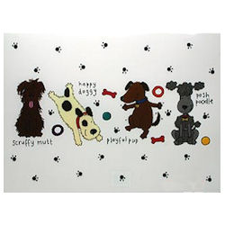Playing Dogs - Place Mat