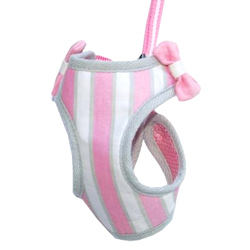 Sweet Bow Harness - Pink