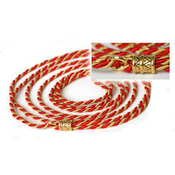 Fancy Show Lead - Red & Gold