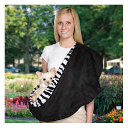 Sling Carrier - Zebra & Black