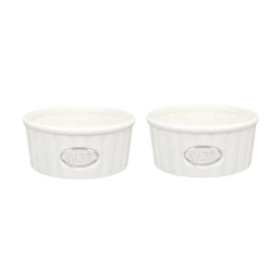 CAFÉ BOWLS SET - WHITE (Pet Studio)