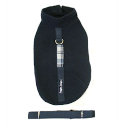 Fleece with matching Leash - Blue