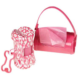 SAFARI WASTE BAGS HOLDER - PINK ()