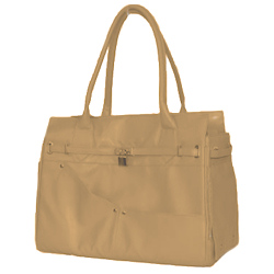 LUXURY LOCK TOTE - BEIGE (DOGO)