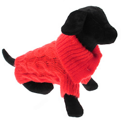 Mohair Sweater - Red