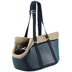 Franco Patent Leather Carrier - Medium
