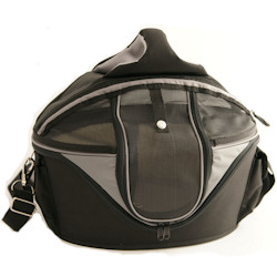 Cage/Carrier/Travel de Luxe - Black/Grey M