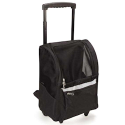 Rolling Backpack - Black