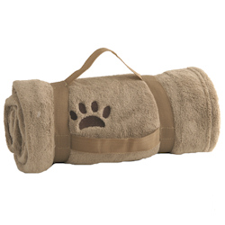 Blanket Paw with handle - Beige