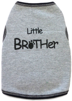 Little Brother Tank - Grey