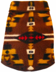 Aztec Fleece - Brown