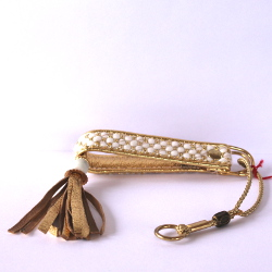 Exclusive Collar with Tassels - Gold