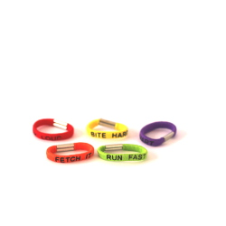 Rubber Bands - Mixed colours 5-pack