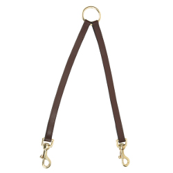 TWIN LEASH - BROWN (Casual Canine)
