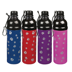 Pet Water Bottle - Red