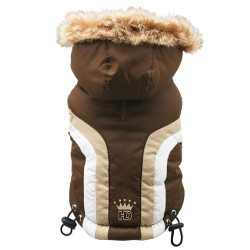 Swiss Alpine Ski Vest - Brown