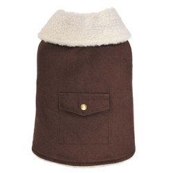 Farmstead Duck Coat - Brown